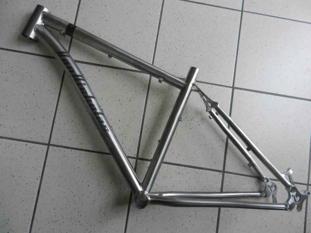 """Van Nicholas Tuareg Titanium 27.5"""" frame"""