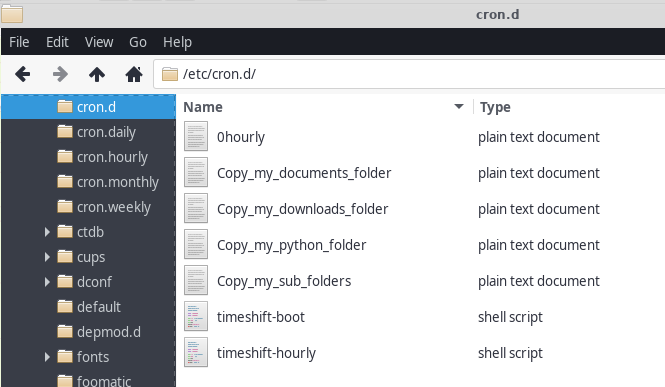 You can see my Cron files for my different cron jobs